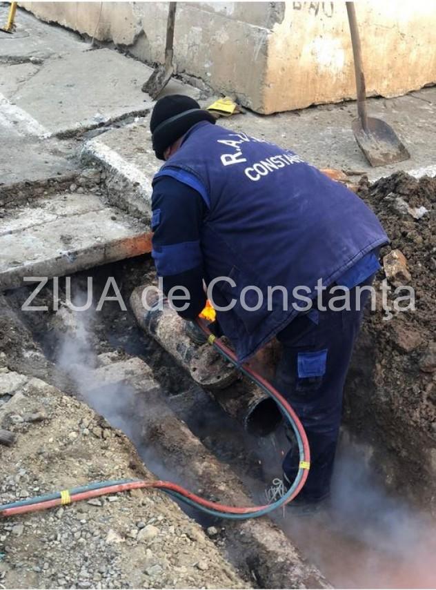 RADET Constanța anunță abonații că a finalizat lucrările în zona Sabroso