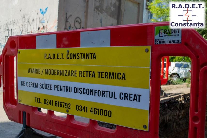 RADET Constanța. Avarie pe rețea în zona Sabroso