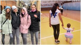 Au preluat ștafeta sportivă Fetele lui George Buricea și Laurențiu Toma sunt voleibaliste la Academia Tomis Constanța