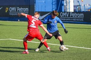 Liga Elitelor Golaveraj 17-1 pentru echipele FC Viitorul în cele două meciuri cu FC Botoșani