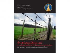 """#DobrogeaAcademică:  """"Antisemitismul și violența politică în România interbelică – cât și cum s-a scris și ce mai avem de făcut"""""""
