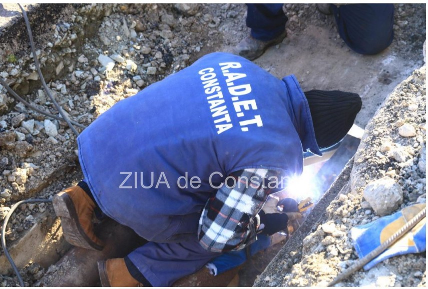 RADET Constanța anunță abonații că a finalizat lucrările din zona Stația de Salvare