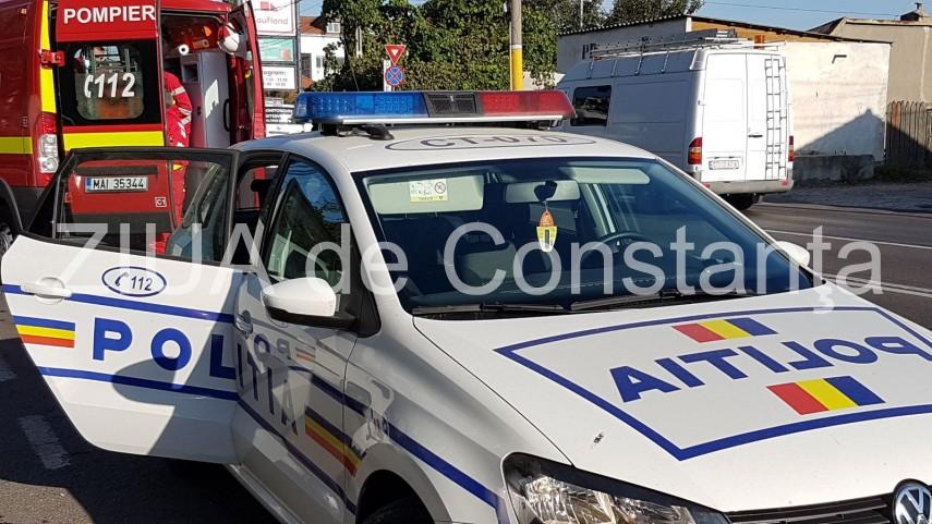 Judetul Constanta: Accident rutier pe DN22, intre Lumina si Sibioara. Doua autoturisme implicate