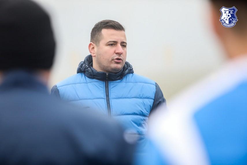 """FC Farul Constanta:  Ianis Zicu - Am reusit sa aducem trei jucatori cu experienta.Speram sa ne ajute sa ne indeplinim obiectivele"""""""