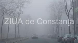INFOTRAFIC Se circulă în condiții de ceață, în județul Constanța