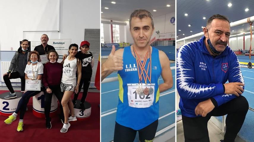 masters constanta si tulcea pe podium campionii mult aur si record national medalii si pentru un jandarm