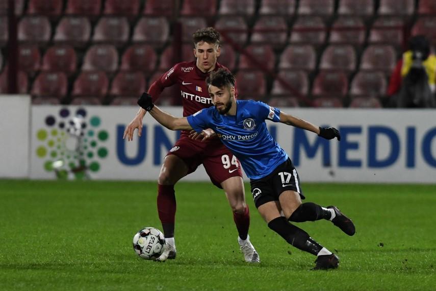 FC Viitorul: Din lotul actual, mijlocasul Andrei Ciobanu are cele mai multe goluri marcate in sezonul de fata