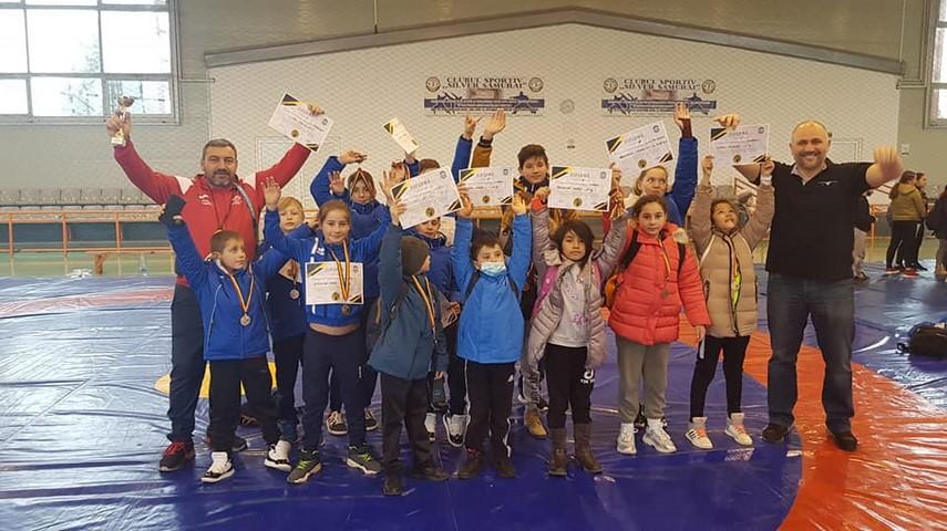 """Luptatorii de la CS Poseidon Limanu 2 Mai, pe podium la Cupa Primaverii"""", desfasurata la Medgidia"""