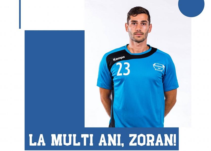 Zoran Nikolic, capitanul HC Dobrogea Sud, la ceas aniversar. Vineri, echipa are meci in Liga Nationala