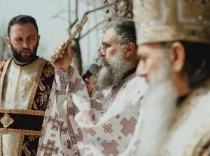 #citeșteDobrogea: La Mănăstirea Dervent a fost sfințit bustul părintelui Elefterie Mihail (galerie foto)