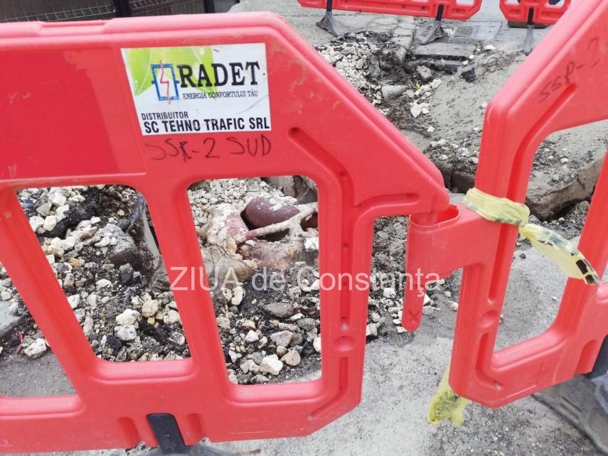 Constanța Au fost finalizate lucrările de eliminare a avariei de pe strada Oborului