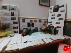 """Nouă ani de la trecerea în eternitate: La Biblioteca comunală """"Ioan Popișteanu"""" din Dorobanțu (Tulcea) a fost comemorat patronul spiritual (galerie foto)"""