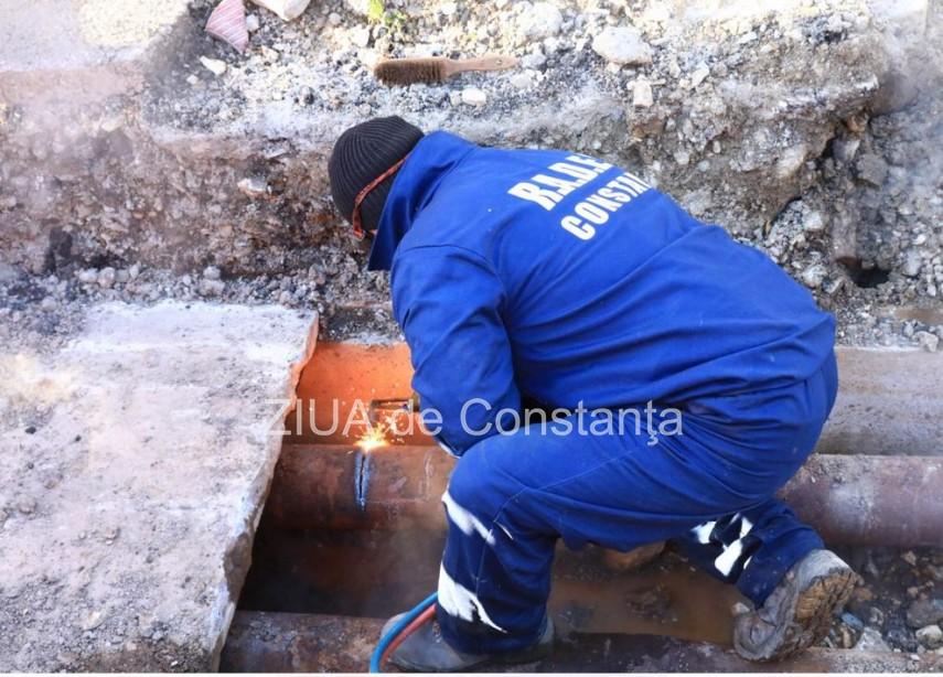 Zona I.C. Bratianu din Constanța, fără apă caldă