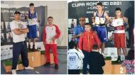 Boxerii Daniel Grigore (Axiopolis Cernavodă) şi Bogdan Trifu (CS Medgidia), aur la Cupa României pentru cadeţi