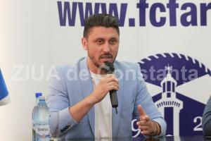Furtună la Constanţa! Ce spune Ciprian Marica despre zvonurile privind plecarea sa de la FC Farul şi fuziunea cu FC Viitorul