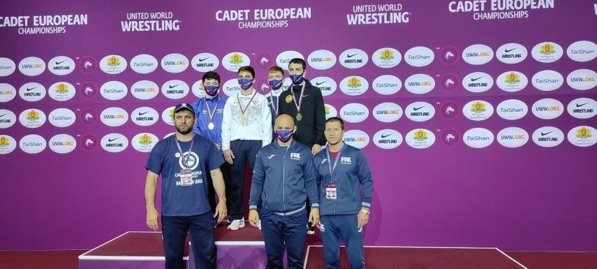 Luptatorul Daniel Sandu, de la CSS Mangalia, medaliat la Campionatul European