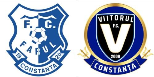 """Constanta. FC Farul si FC Viitorul. Proiectul Impreuna suntem mai puternici"""" porneste la drum"""