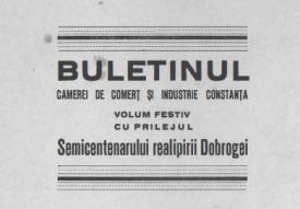 #DobrogeaDigitală: Primul Congres al Camerelor de Comerț și Industrie din România Mare și primele școli comerciale din Dobrogea