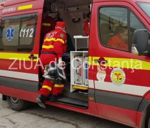 Județul Constanța. Accident rutier la ieșire din Valea Dacilor, spre Autostrada A2. O victimă
