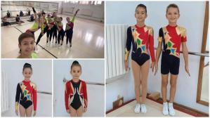 """Gimnastică aerobică CSS1 și CS Farul Constanța, pe podium la """"Venturelli World Competition"""", întrecere internațională"""