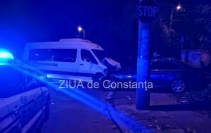 Constanţa Accident rutier la intersecţia şoselei Mangaliei cu strada Caraiman. O victimă (galerie foto)