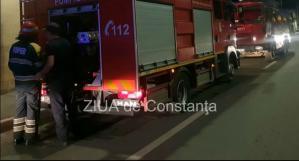 Județul Constanța. Incendiu la o casă din localitatea Tuzla