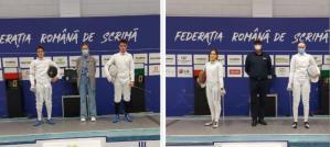 CSS1 Constanţa Mihai Ghencea a câştigat Cupa României la scrimă. Eva Mateescu, pe locul secund, iar Luca Iliuţă - al treilea (galerie foto)
