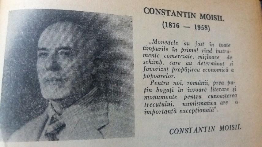 DobrogeaDigitală: In memoriam Constantin C. Moisil, profesor de istorie,  arheolog și numismat român