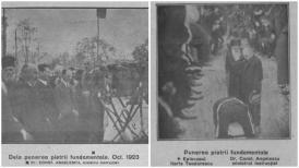"""#DobrogeaDigitală: Se împlinesc 98 de ani de la punerea pietrei fundamentale a actualei clădiri a Liceului """"Mircea cel Bătrân"""""""